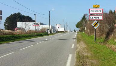 Photo: Arrivée à Quimper!