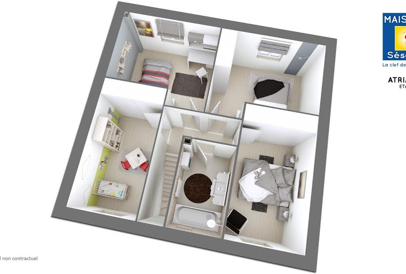 Vente Terrain + Maison - Terrain : - Maison : 105m² à Montévrain (77144)