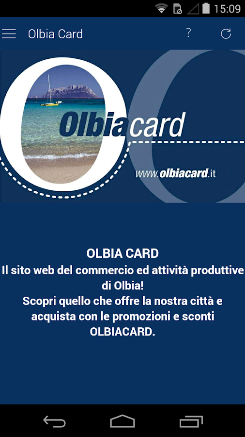 Olbia Official APP- screenshot
