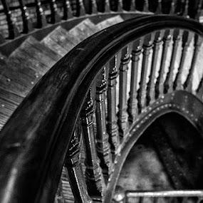 stairs by Sefanya Dirgagunarsa - Abstract Patterns ( pwccurves )