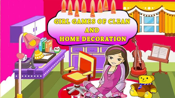 Girl Home Decoration Games ❤️ screenshot