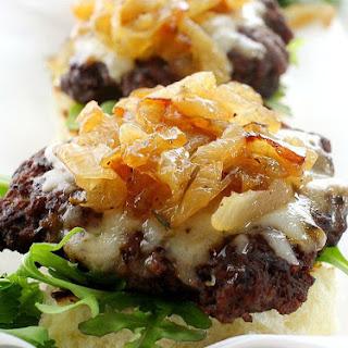 Caramelized Onion Beef Sliders Recipe