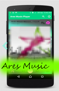 Pink Arees Music Player - náhled
