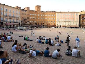 Photo: Siena - w czasie sjesty