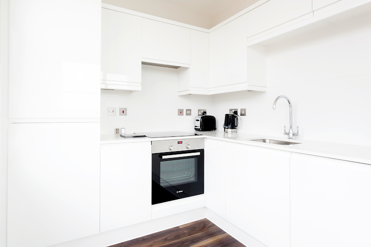 Fully equipped kitchen at Centro Apartments