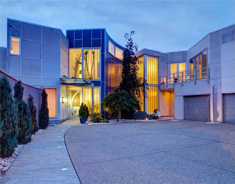 smart house with ergonomic design