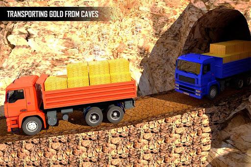 Gold Transporter Truck Driver 2019 : Uphill Driver screenshot 2