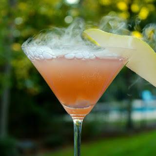 Sparkling Cranberry Pear Martini Recipe