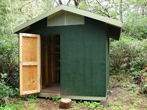 Photo: Cabin in Skull Cove.