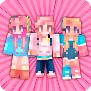 Girls Skins for Minecraft 1.0 by Kitoved logo