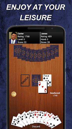 Gin Rummy  gameplay | by HackJr.Pw 8