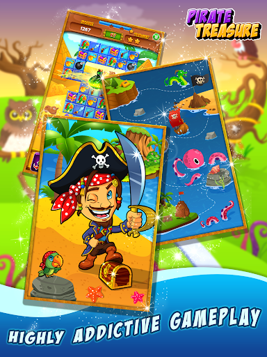 Pirate Treasure ud83dudc8e Match 3 Games 3.2.9 screenshots 8