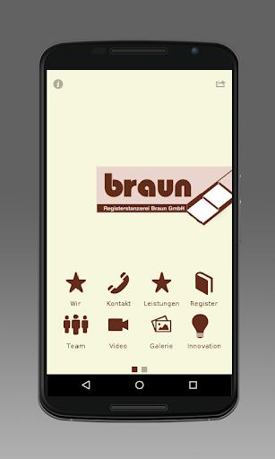 Registerstanzerei Braun