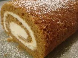 Pumpkin Cheesecake Roll Recipe