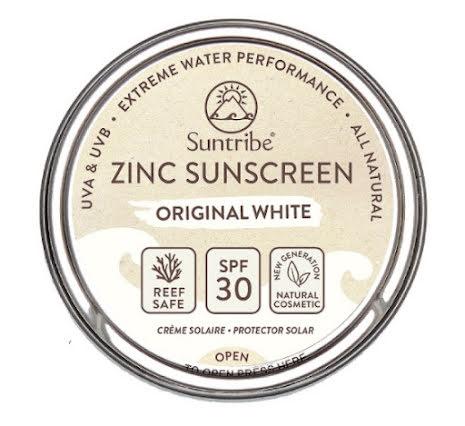 FYND: Suntribe All Natural Face & Sport Zinc Sunscreen Original White SPF 30 (45g)