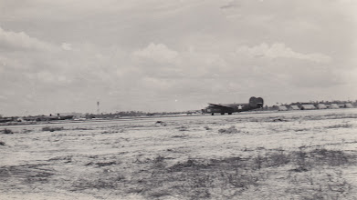 Photo: B-24.   Ft. Myers Air Base.  Ft. Myers, FL.  Spring 1942.