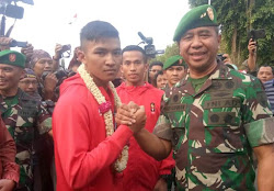 Karateka dari TNI Rai Medali Emas