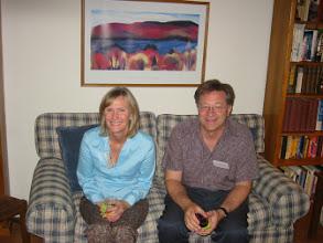 Photo: Professor Mike and Christine McCarthy