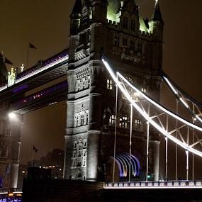Tower Bridge by Louise Corr - Buildings & Architecture Bridges & Suspended Structures ( tower bridge london )