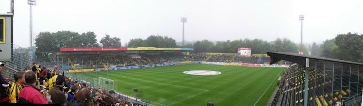 Photo: 10/08/07 v Carl Zeiss Jena (2. Bundesliga) 2-2 - contributed by Gary Spooner