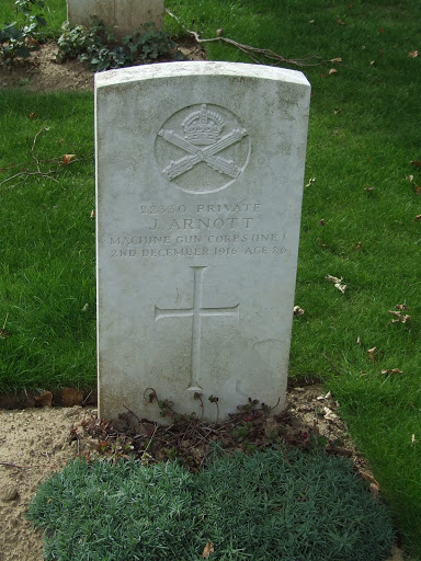 John Arnott grave