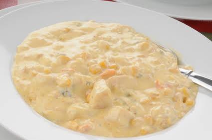 Crockpot Chicken Corn Chowder