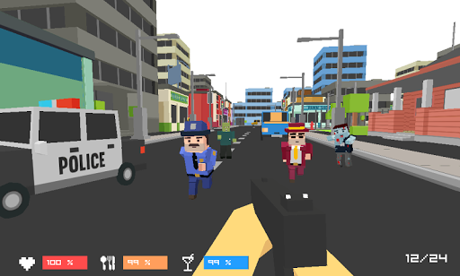 Pixel Zombies Hunter Screenshot
