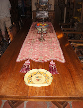 Photo: Dining room table
