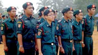 Photo: Pada 20 Oktober 2007, Lembaga Pengarah MUSLEH telah bersetuju mengambil Kadet Remaja Sekolah (KRS) Malaysia sebagai aktiviti kokurikulum bagi semua SRI-SMI di bawah naungannya. Oleh itu, nama Pergerakan Syabab dan Fatayat Malaysia (PSFM) di SRI-SMI telah digantikan dengan nama KRS MUSLEH dengan mengekalkan falsafah, konsep, isi kandungan dan semua syiar asasi PSFM. Surat KPM bertarikh 21 Januari 2008 telah mengesahkan bahawa MUSLEH menjadi badan gabungan KRS peringkat kebangsaan bagi semua SRI-SMI yang bernaung di bawahnya.