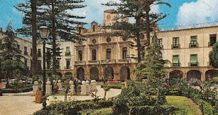 Imagen de archivo del aspecto que lucía la Plaza Vieja de Almería.