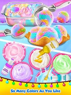 Unicorn Ice Cream Maker - Carnival Fair Food 2018 - náhled