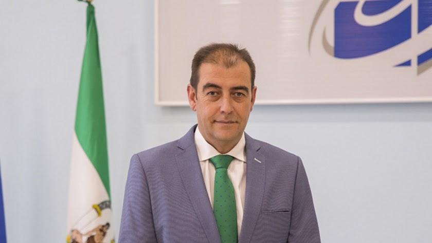 Jesús Posadas, presidente de los empresarios del mármol.