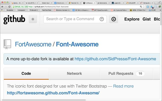 Github BFF: Better Fork Finder