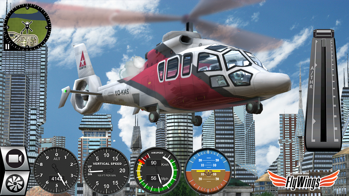 Helicopter Simulator 2016 Free- screenshot