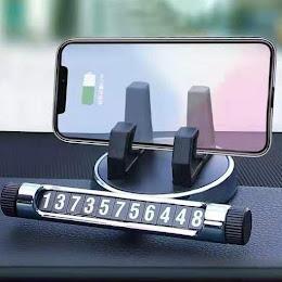 Suport telefon multifunctional cu numar de telefon