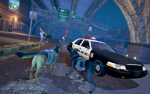 US Police Dog Crime Chase - Police Dog Simulator  captures d'écran 2