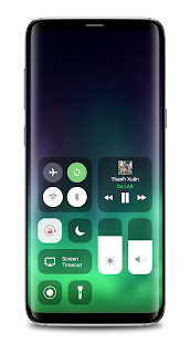 IOS13 Control Center Screenshot
