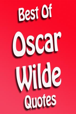Best Of Oscar Wilde Quotes