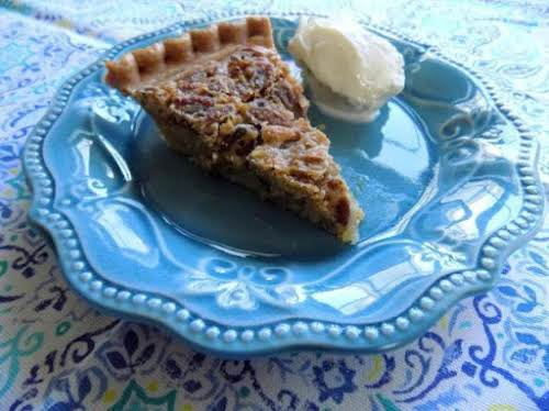 "Cafe South's Pecan Pie ""What a delicious, easy pecan pie recipe! Your..."