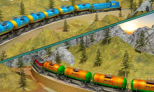 Indian Train City Pro Driving- Oil Tanker Train  screenshots 5