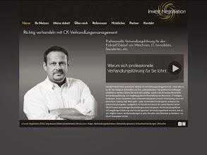 Photo: Referenz Webdesign: CK Verhandlungsmanagement (HTML5/CSS3, responsive Design, WordPress)