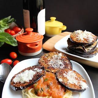 Eggless Eggplant Parmesan | Parmigiana