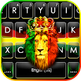 Reggae Lion Crown Keyboard Theme