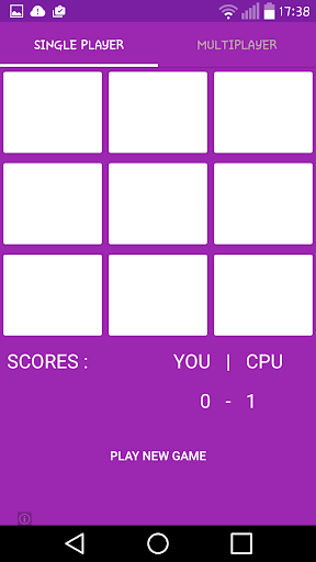 Tic Tac Toe Material Design|玩棋類遊戲App免費|玩APPs