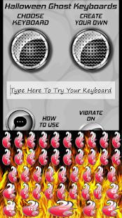 Vypalování kláves - náhled