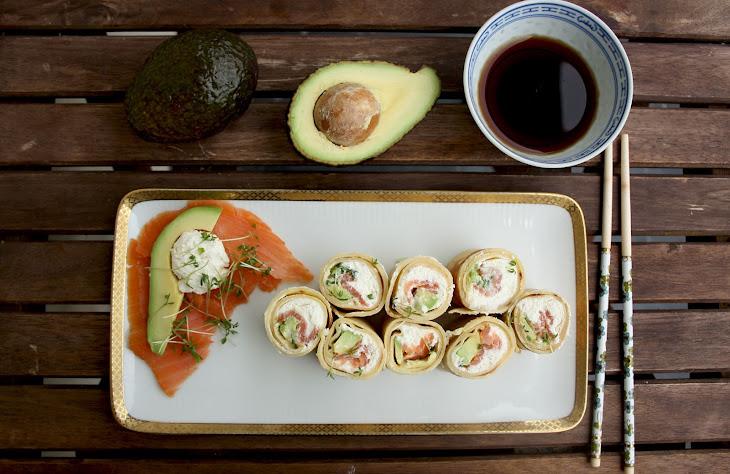 Pancake Sushi Rolls Recipe
