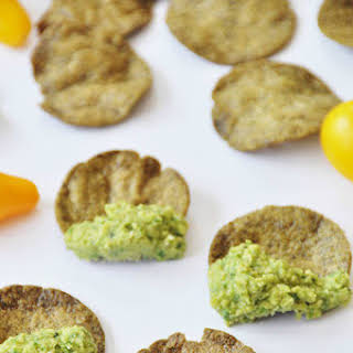 Chickpea and Super Greens Dip.