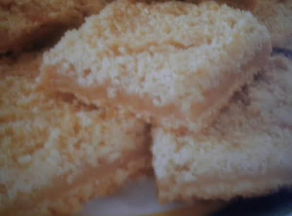 Golden Peanut Butter Bars Recipe