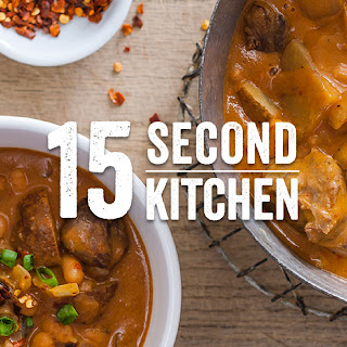 Slow Cooker Ranch Beef & Bean Stew.