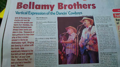 Photo: Seems like we have just missed their live concert held in Goa on the 5th February. (Bellamy Brothers: https://www.facebook.com/bellamybrothersindiatour) 8th February updated -http://jp.asksiddhi.in/daily_detail.php?id=448